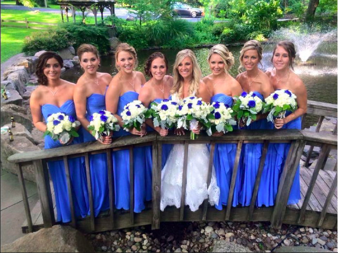 Real Bride: Ashley Vitale - Kitty Chen wedding dress in Bucks County