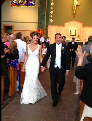 Real Bride: Lucinda Otterman - Casablanca Bucks County wedding dress