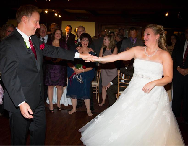 Real Bride: Ona Wedding Gown in Bucks County