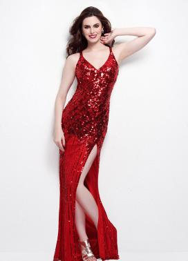Red Primavera Prom Dress