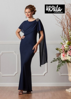 Ursula of Switzerland: Mother of the Bride or Groom in Blue