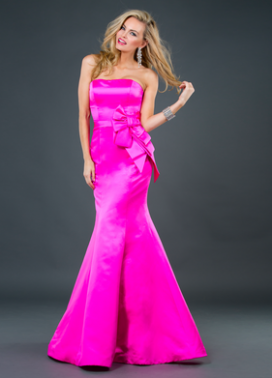 Pink Jovani Prom Gown