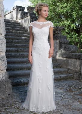 Sincerity couture bridal gown wedding dress for Wedding dresses straight cut