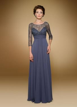 Rina di Montella: Blue Mother of the Bride Dress