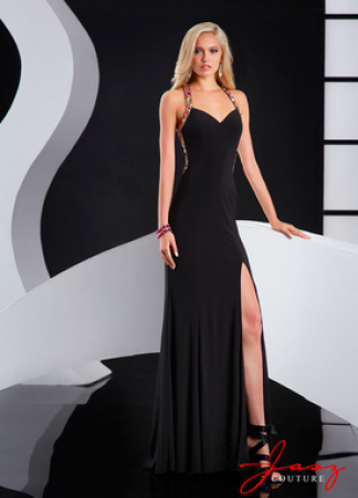 Elegant Black Jasz Couture Prom Dress