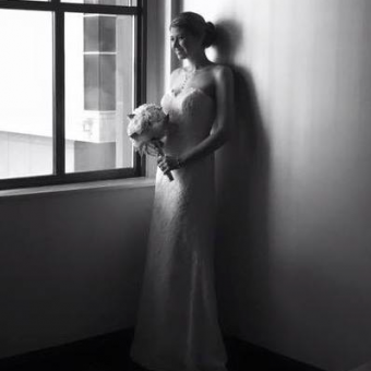 Real Bride: Jennifer Tenso - Paloma Blanca wedding dress in PA