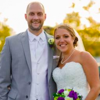 Real Bride: Jessica Gallagher 2072 Casablanca PA wedding dress