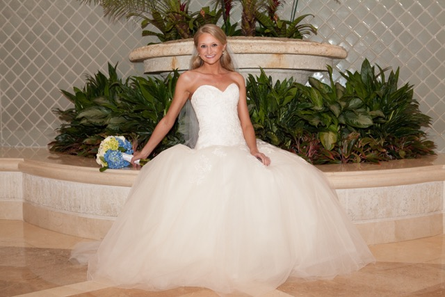 Real Bride: Jennifer Sparks - Enzoani wedding dress