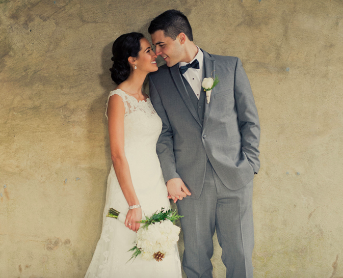 Real Bride: Samantha Mancuso - Casablanca wedding dress