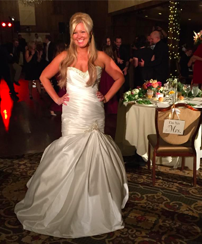 Real Bride: Nicole Whitney - Enzoani wedding dress in Philadelphia