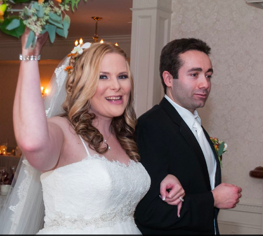 Real Bride: Mary Costello - Enzoani wedding dress in Philadelphia
