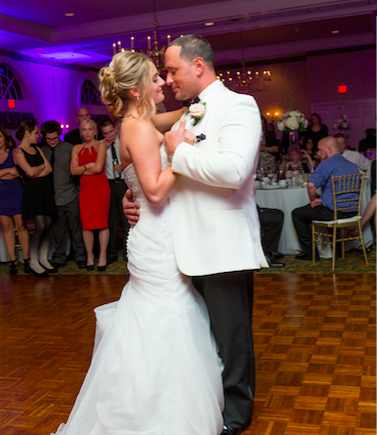 Real Bride: Katie Murphy - Casablanca wedding dress in PA
