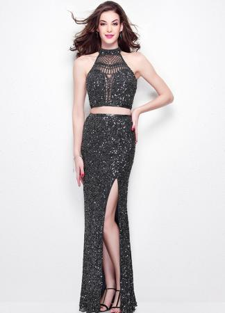 Black Primavera Prom Dress
