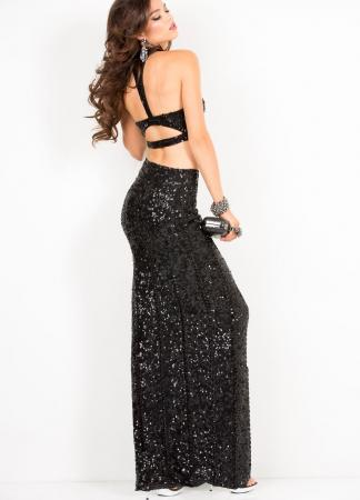 Black Scala USA prom dress