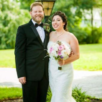 Real Bride: Anna Olender - Pronovias St. Patrick wedding gown