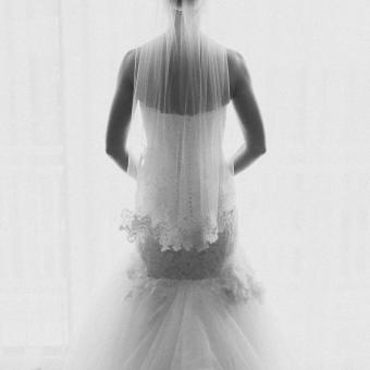 Real Bride: Colleen Christian - Enzoani wedding dress in PA