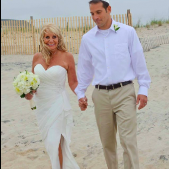 Real Bride: Judy Sklar - Ashdon wedding gown in PA