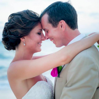 Real Bride: Brittney Barndt in a Bucks County wedding dress