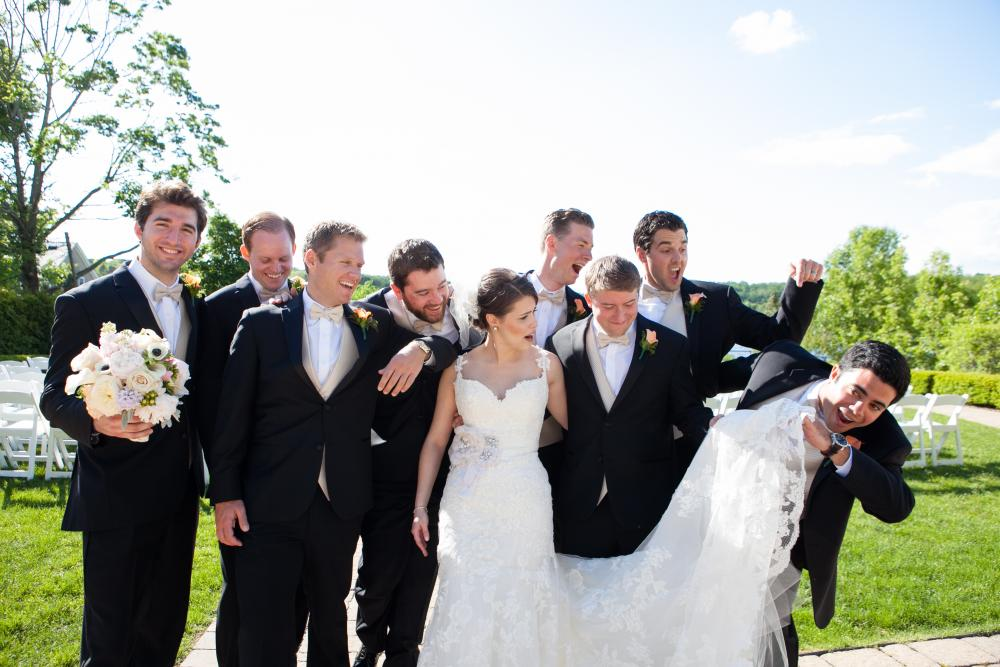 Real Bride: Alyssa DiGiacinto - Enzoani wedding dress in Bucks County