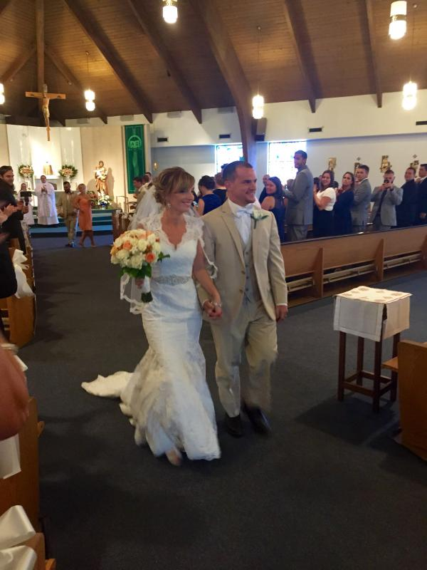 Real Bride: Kate Sutliff - Ashdon wedding dress in Bucks County
