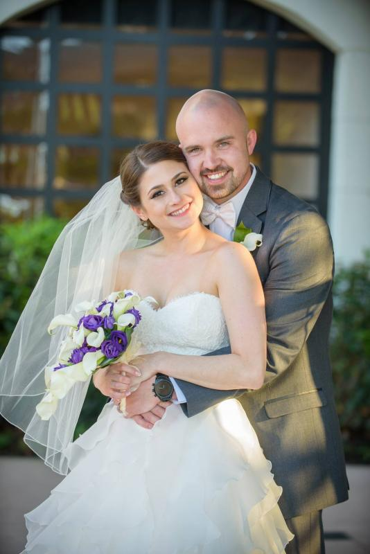Real Bride: Sarah Hoffman - Paloma Blanca Wedding Dress