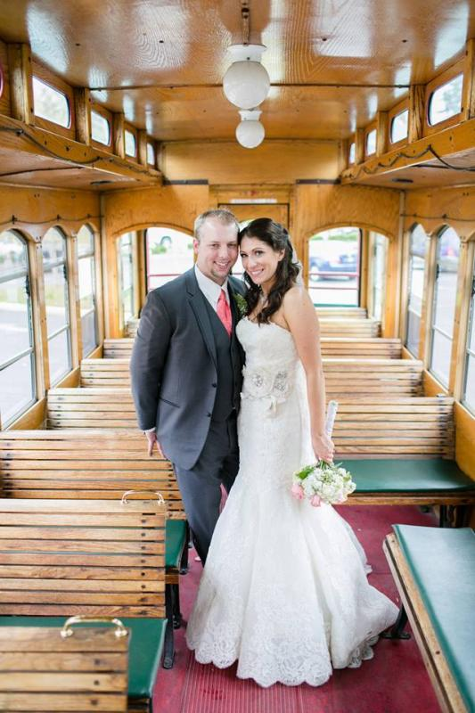 Real Bride: Lauren Balsamo - Enzoani wedding dress in PA