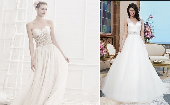 Designer wedding dresses in Bucks County