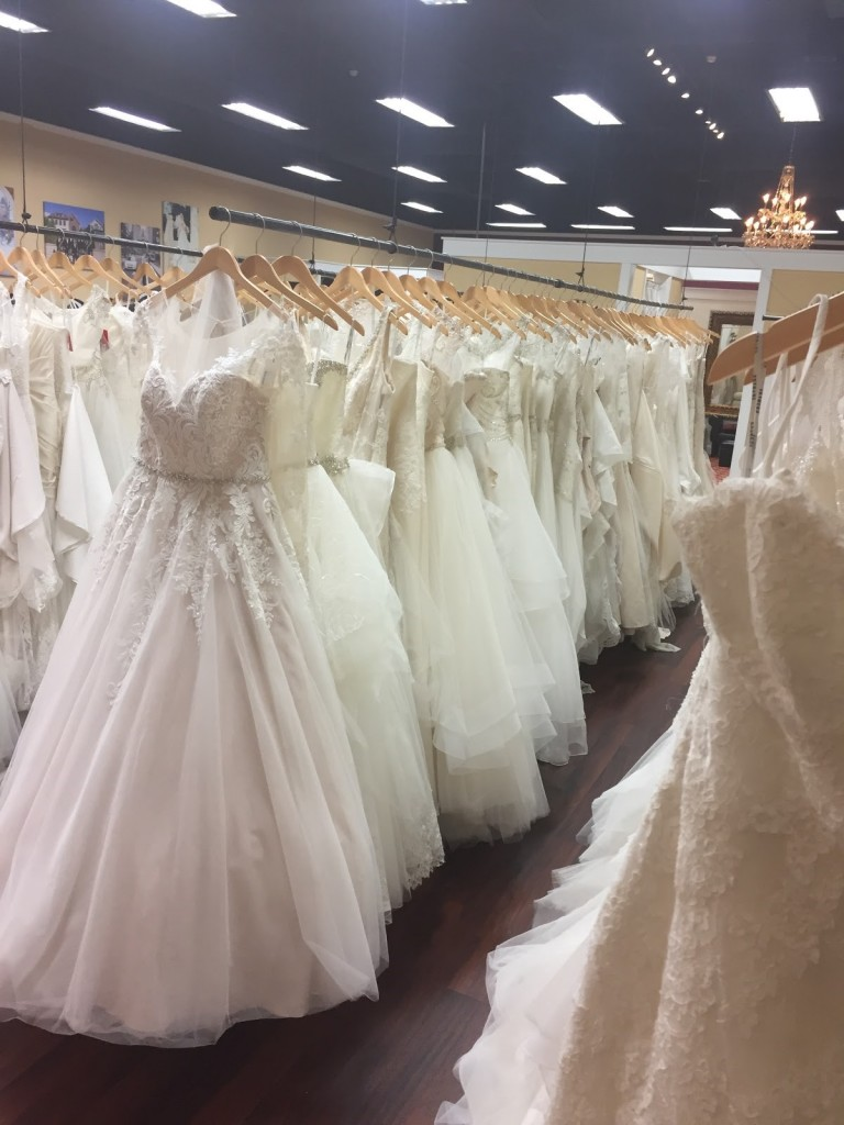 Wedding gowns in Bucks County