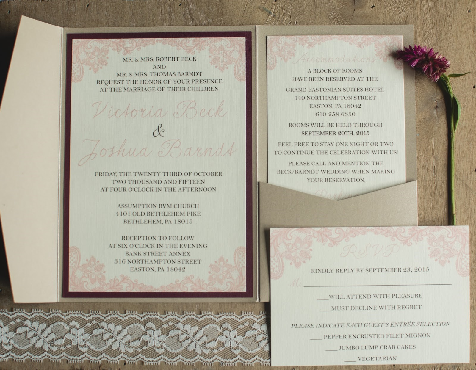 Setting the Tone with Stationery: Philadelphia Bridal Shop
