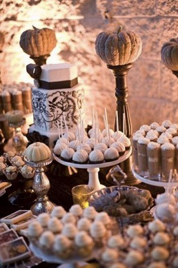 autumn wedding treats