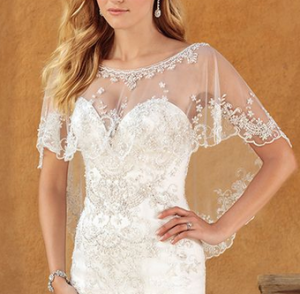 53cfd7d083163 Completely transform your dress with detachable straps, cap, or even long  sleeves! Consider a detachable train to turn a sleek fitted dress into a  ballgown ...